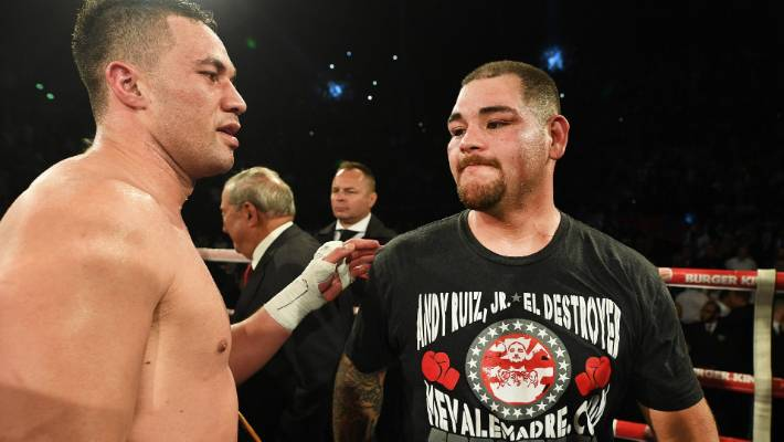 Andy Ruiz Jr confirmed as Anthony Joshua's opponent for June 1 fight
