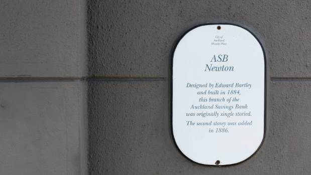There's a long history of banks branches vacating and new owners moving in. In Ponsonby this plaque commemorates the ...