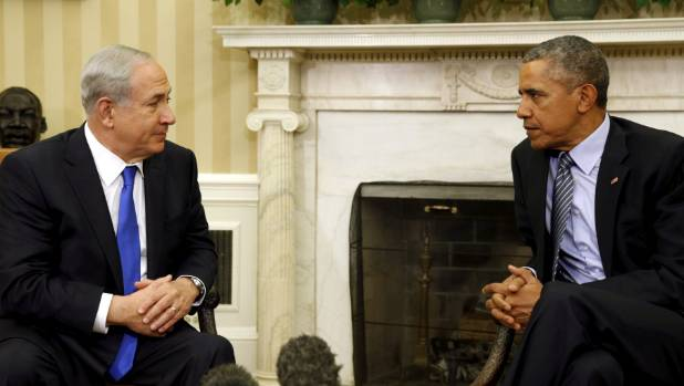 US President Barack Obama has had an acrimonious relationship with Israeli Prime Minister Benjamin Netanyahu.