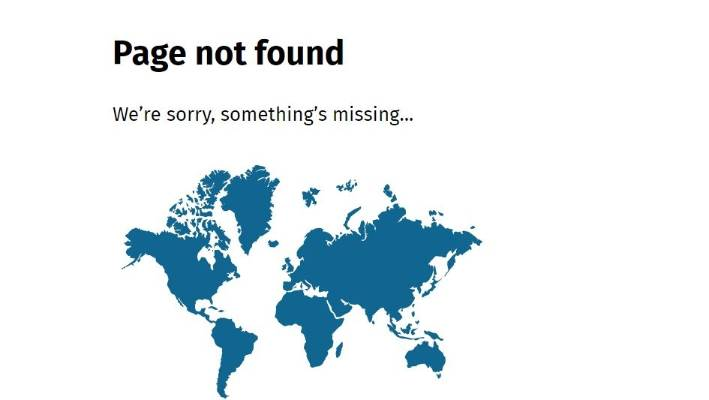 Nz Government Website Features World Map Missing New Zealand Stuff