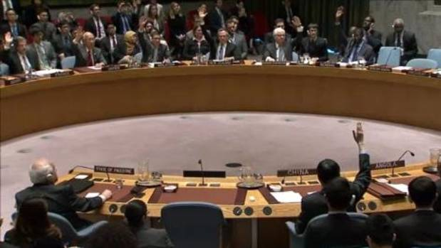 UN demands end to Israeli settlements after US abstains