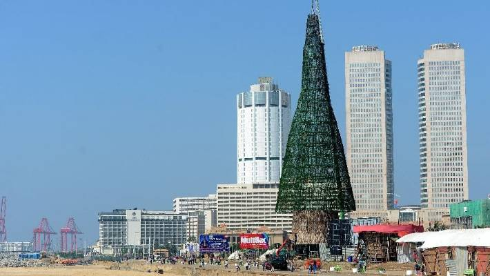 the christamss tree that towers over colombo sri lanka it surpassed the world record - Worlds Tallest Christmas Tree