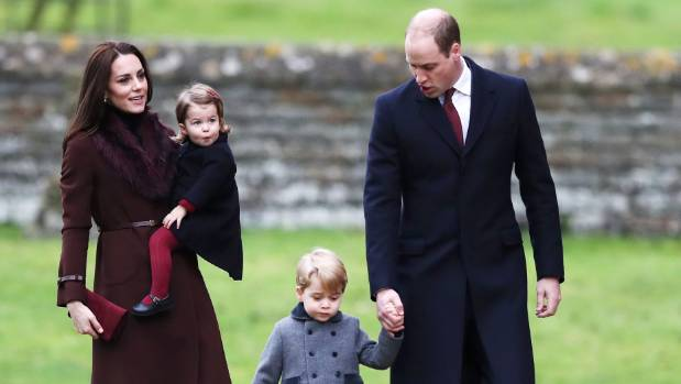 The royal parents are hoping their children will behave for their aunt Pippa's big day.