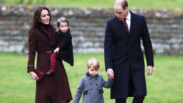 William and Kate's son Prince George will act as page boy while their daughter Princess Charlotte will be one of the ...