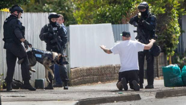 A man who was wanted on firearm charges was arrested by police in Palmerston North.