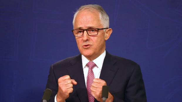 Australian Prime Minister Malcolm Turnbull arrives in Queenstown on Friday to meet Bill English.