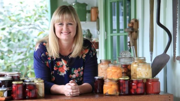 Lynda Hallinan's spare bedroom doubles as a sometime food photography studio.