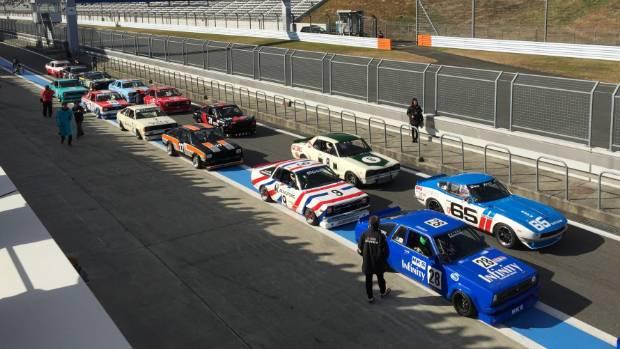 Historic Nissan/Datsun racing was a big attraction at Fuji.