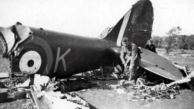 The aircrash that killed Jack Mallon.