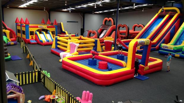 Bounce and Beyond is an inflatable playground facility in East Tamaki.