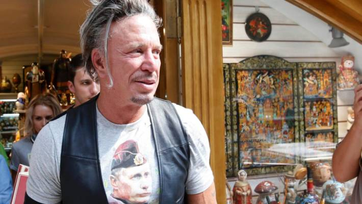 Actor Mickey Rourke returns to boxing at age 64 with plans ...