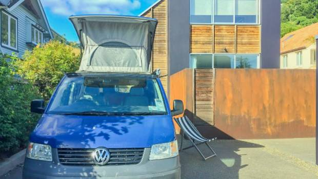 For $35 a night camper vans can book this Sumner driveway through the My 5 star Driveway website for travellers.