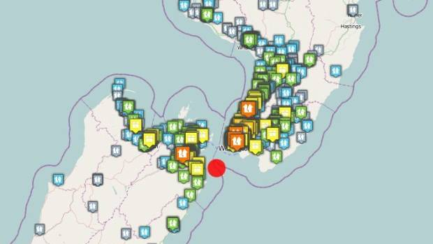 'Severe' magnitude 5.5 natural disaster strikes central NZ