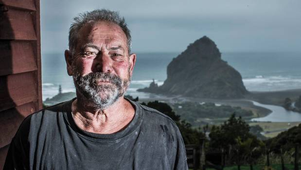 "Mike Jolly at Piha Surf: ""this is the killer beach in terms of drownings""."