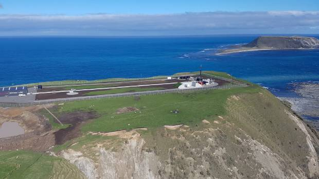 Rocket Lab's launch site at the tip of Mahia Peninsula in northern Hawke's Bay.