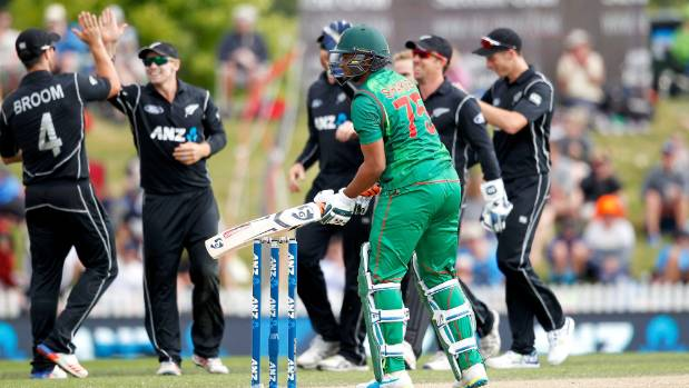 Shakib Al Hasan is one of the world's best allrounders but he hasn't stood up in New Zealand when his Bangladesh team ...