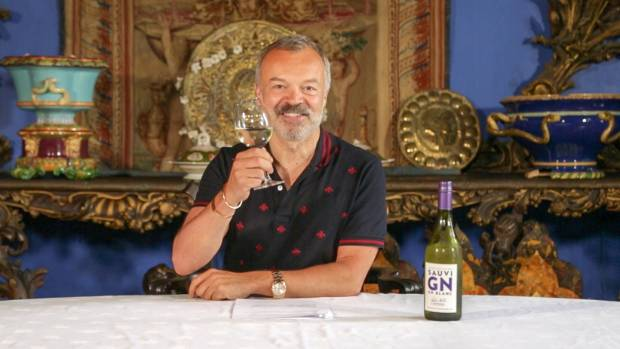 "Graham Norton describes his wine as ""easy drinking""."