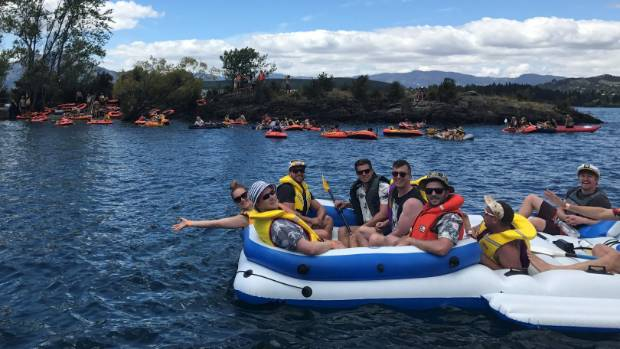 Drunken revellers on Ruby Island had to be helped ashore by Wanaka emergency services.