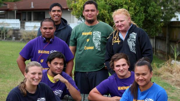 Randwick Park's Warriors of Change youth mentoring group.