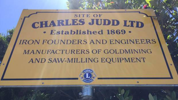 The old Placemakers building in Queen St, Thames is the historic site of Judd's Foundry.