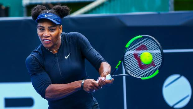 Serena Williams is raring to go in the 2017 ASB Classic in Auckland starting on January 2.