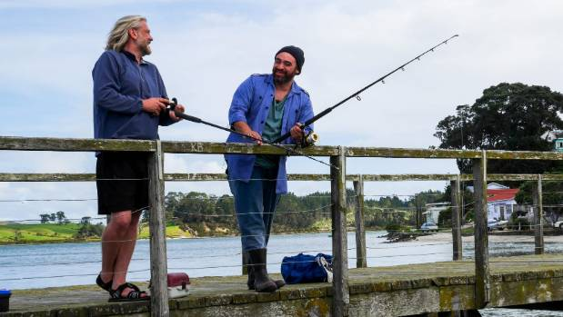 The Kaipara Harbour was the perfect location for The Catch.