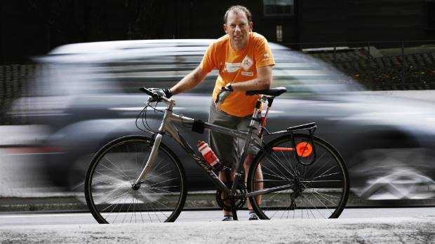 Cycling Advocates Network project manager Patrick Morgan.