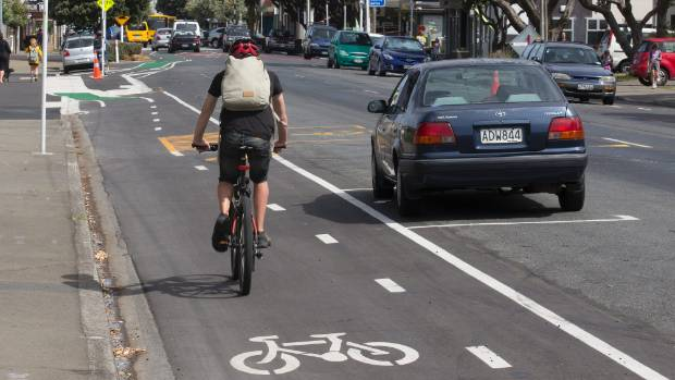 The Island Bay Cycleway is an example of the kind of infrastructure needed to keep cyclists safe Patrick Morgan says.