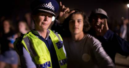 Police said partygoers at Whangamata kept celebrations under control during New Year's Eve. Inspector Freda Grace, ...