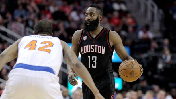 Harden, Harrell ignite Rockets in rout of Clippers