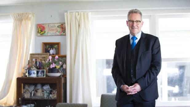 King got onto Hamilton City Council in 2013 and became mayor in 2016. He's pictured at his current home in the outskirts ...