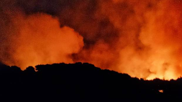Evacuations in place after two fires rip through the Far North