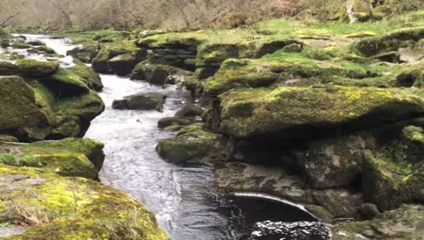 The Bolton Strid is just two metres wide.