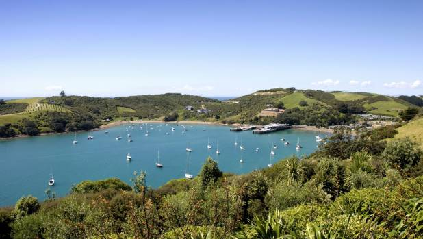 Waiheke Island is dotted with a few wineries.