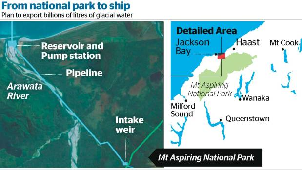 Maps showing the project's planned location.
