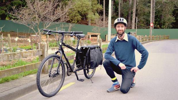 Tour de Science will see David Klein biking from show to show.