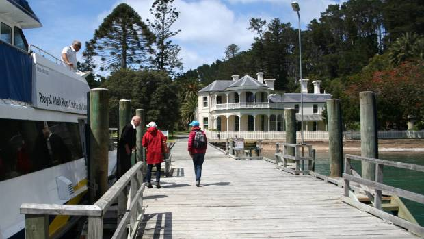 Charging ferry operators and others to use the historic jetty is standard practice, DOC says