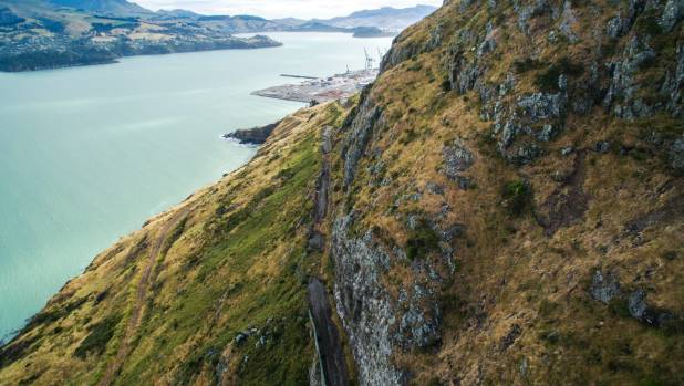Repair to Sumner Road will provide a vital link for vehicles travelling from Christchurch to Lyttelton Port.