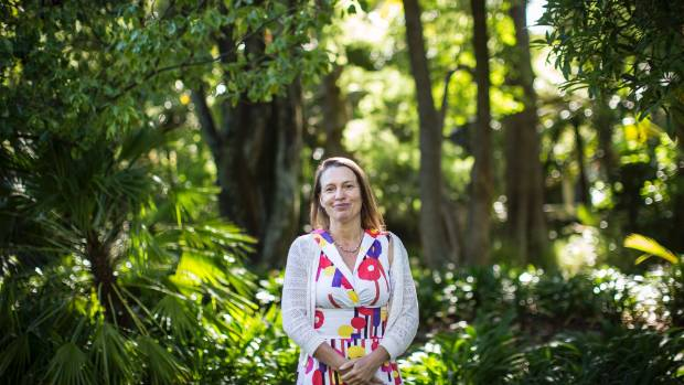 Nelson City Councillor Kate Fulton in the Queens Gardens.