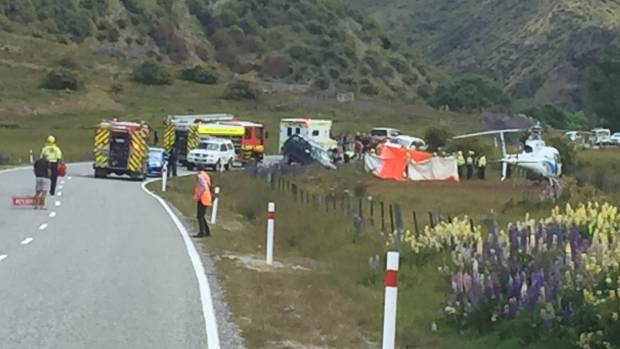 Motorcyclist dies following Cardrona Valley crash