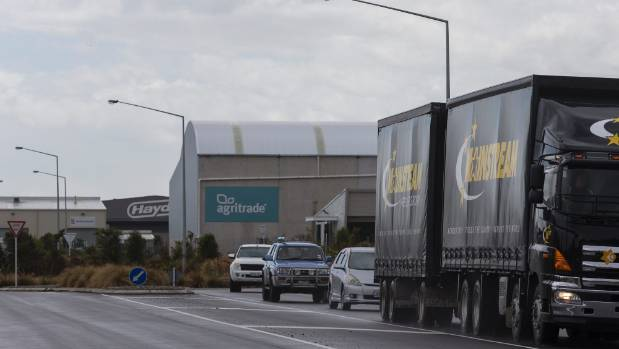 """Rolleston's iZone industrial hub is home to new """"inland ports"""" for the Lyttelton Port Company and Port of Tauranga."""