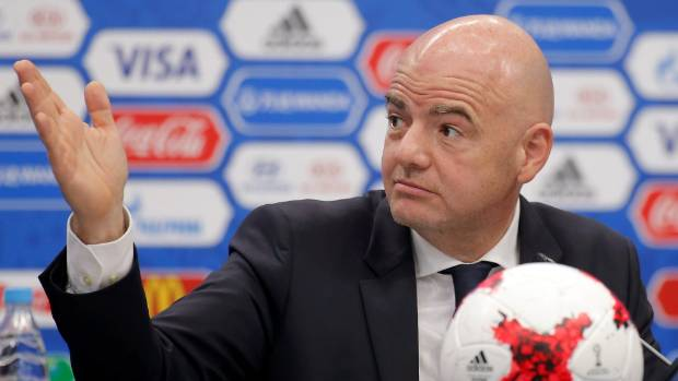 Fifa President Gianni Infantino made good on an election promise to expand the World Cup.