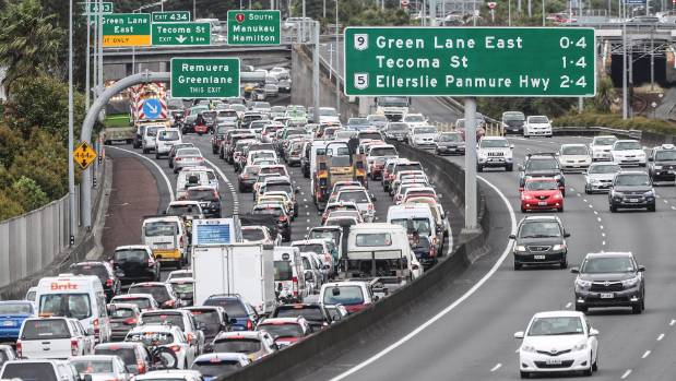 """There doesn't always seem to be a reason for the traffic apart from at Takanini,"" Bob Mitchell said."