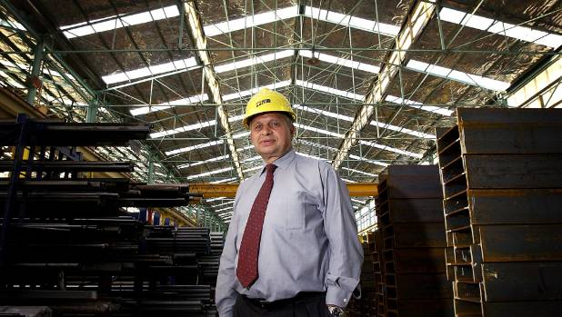 Calavrias was at the helm of Steel & Tube for 18 years, before retiring.