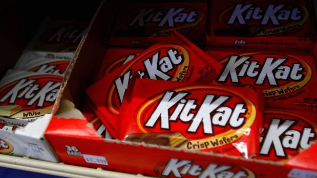Kit Kat bars are popular all over the world.