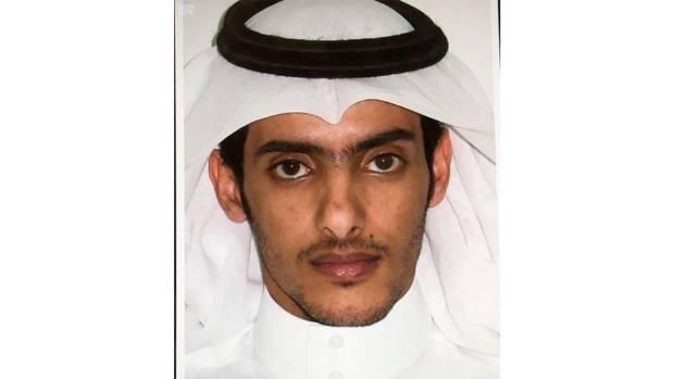 This photo, released by the state-sponsored Saudi Press Agency, purports to show Taie bin Salem bin Yaslam al-Saya'ari.