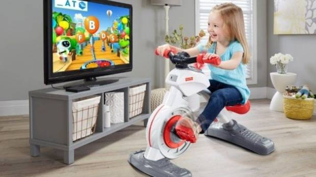 Clever or ridiculous? Check out Fisher Price's Smart Cycle.