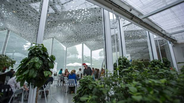 The Ilex Cafe in the Botanic Gardens was crowded despite being in the off season. (file photo)