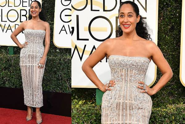THE GOOD: What a goddess. Tracee Ellis Ross looks kind of like a very expensive light fitting, but in a good way - in an ...
