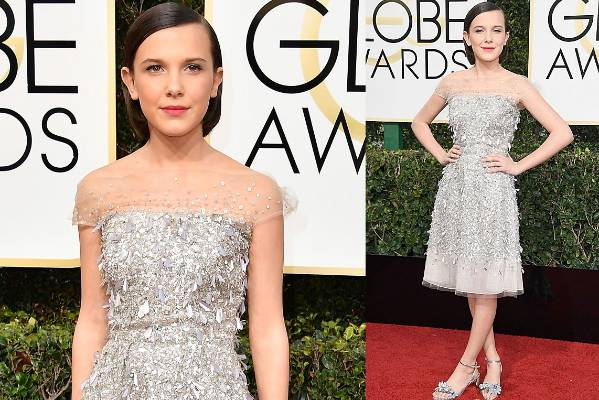 THE GOOD: I'm so sorry, it's more sequins. But Millie Bobby Brown (of Stranger Things) is 12 years of age and looks more ...